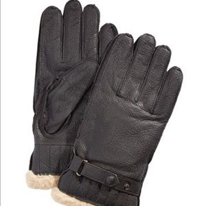 NWT Barbour Men's Leather Gloves